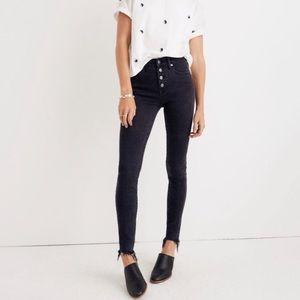 "Madewell 9"" High Rise Skinny Jeans Berkeley Wash"